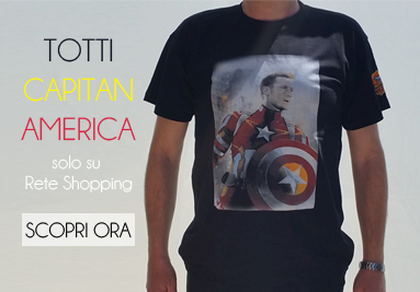 T shirt capitan america