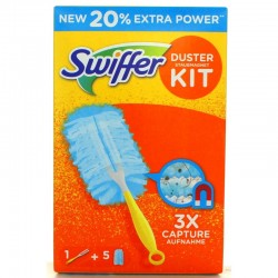 SWIFFER DUSTER SYSTEM E 5 PANNI