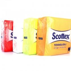 SCOTTEX TOVAGLIOLI 33X33 2 VELI 33 PEZZI COLORATI