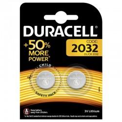 DURACELL BATTERIA LITHIUM LONG LASTING POWER 3 VOLT 2 PZ.2032