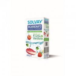 SOLVAY BICARBONATO MICROGRANULI FRUTTA & VERDURA 400 GRAMMI