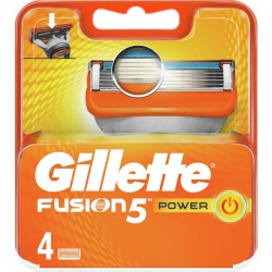 GILLETTE FUSION 5 POWER RICARICA 4 PZ
