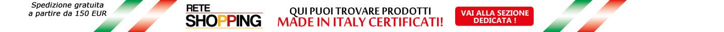 """Vai alla sezione dedicata del """"Made in Italy"""""""